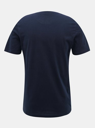 Tmavomodré tričko Jack & Jones Torino