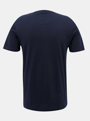 Tmavomodré tričko Jack & Jones Reli