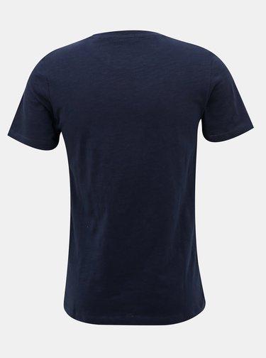 Tmavomodré tričko Jack & Jones Easy
