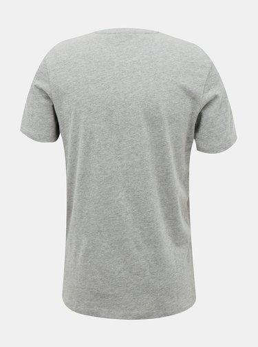 Šedé tričko Jack & Jones