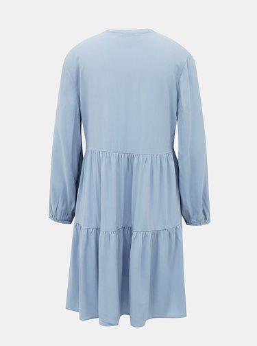 Světle modré volné šaty ONLY Nova