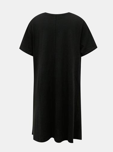 Čierne basic šaty ONLY CARMAKOMA Day