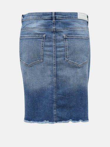 Modrá džínová sukně ONLY CARMAKOMA Vera
