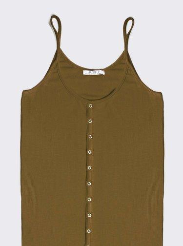 Khaki šaty Alcott