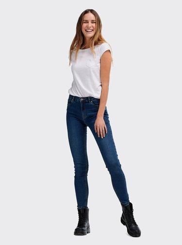 Tmavě modré dámské skinny fit džíny Alcott