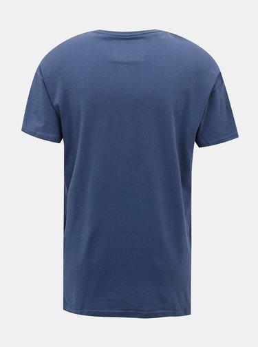 Modré tričko ONLY & SONS Emin