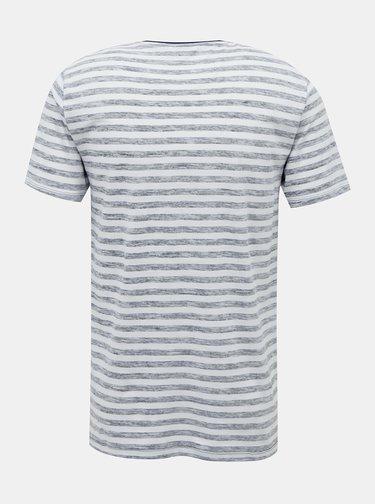 Šedé pruhované tričko ONLY & SONS