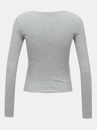 Šedé dámske tričko TALLY WEiJL