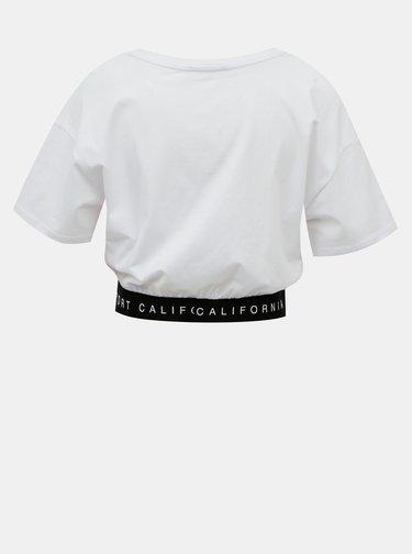 Biele krátke tričko TALLY WEiJL