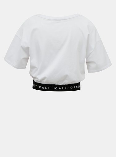 Bílé krátké tričko TALLY WEiJL