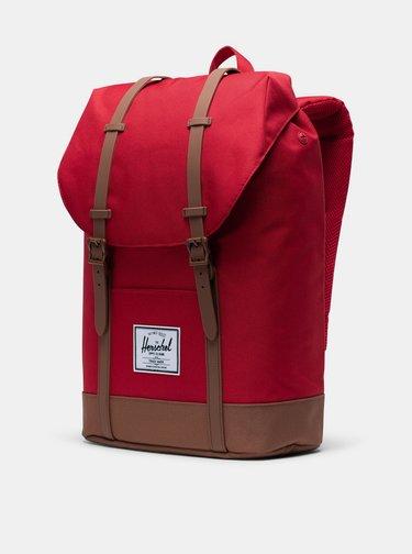 Červený batoh Herschel Supply Retreat 19,5 l