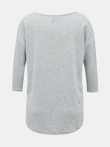 Svetlošedý ľahký sveter VERO MODA Malena