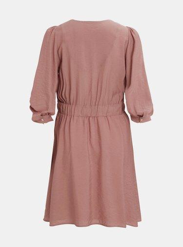 Starorůžové šaty Object