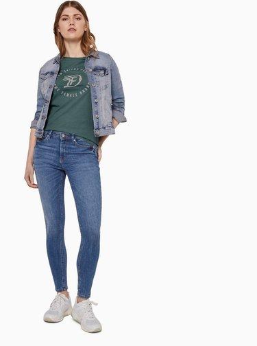 Zelené dámske tričko Tom Tailor Denim