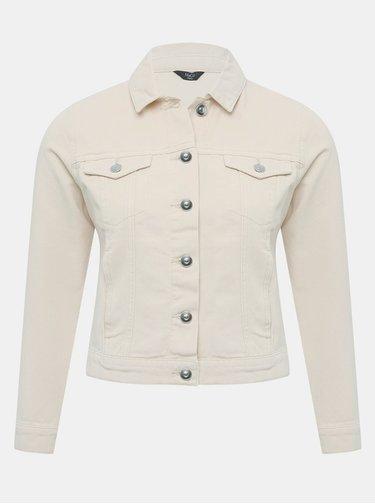 Béžová rifľová bunda M&Co