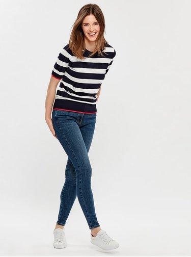 Modré skinny fit džíny M&Co