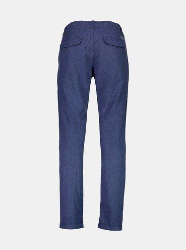Modré ľanové nohavice Lindbergh