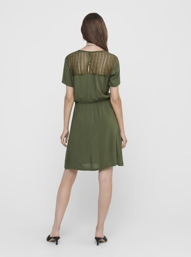 Khaki šaty Jacqueline de Yong Summer