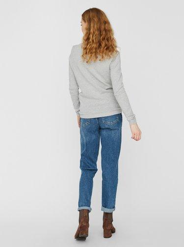 Šedý ľahký sveter VERO MODA Minnie