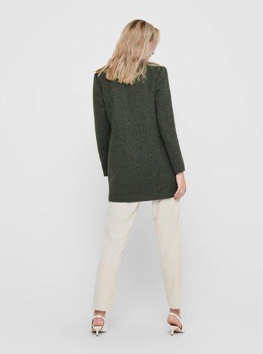 Tmavě zelený lehký kabát ONLY Soho