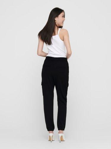 Čierne nohavice s vreckami ONLY
