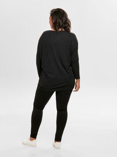 Černý lehký svetr ONLY CARMAKOMA