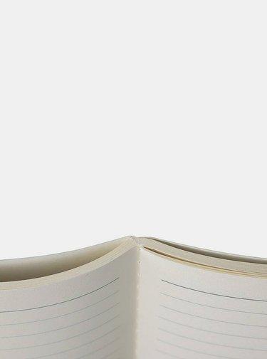 Tmavě modrý vzorovaný zápisník Tranquillo Ilex