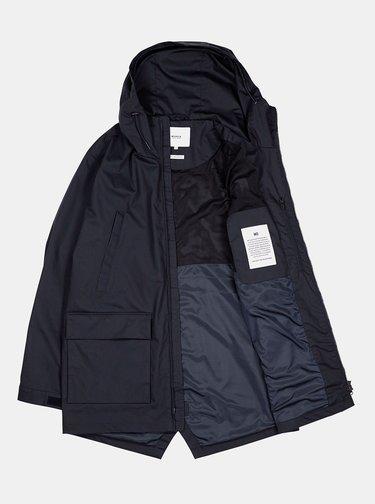 Tmavomodrá pánska vodeodolná bunda Makia Shelter