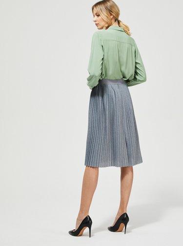 Šedá plisovaná sukňa Moodo