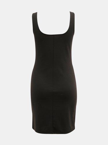Čierne basic šaty ONLY Loui