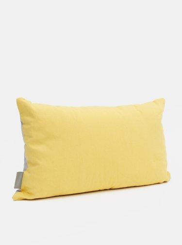 Žluto-šedý polštář Cooksmart 50 x 30 cm