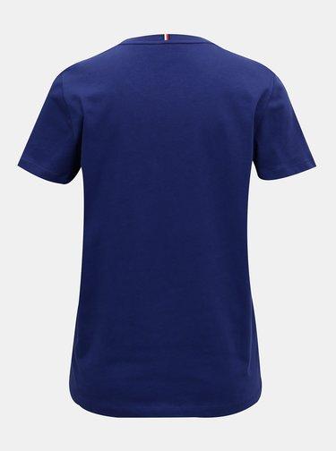 Modré dámské tričko Tommy Hilfiger