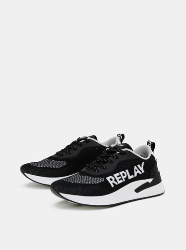 Černé dámské tenisky Replay