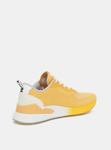 Žlté dámske tenisky Replay