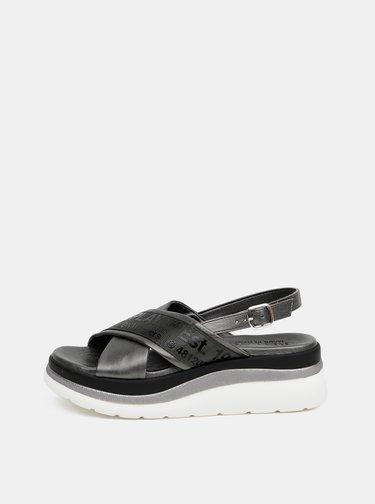 Šedé sandálky na platforme Replay