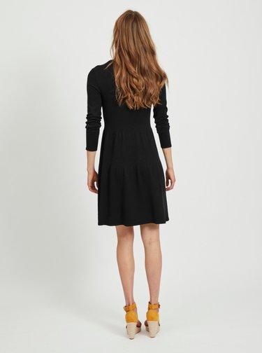 Černé šaty VILA Bolonsia