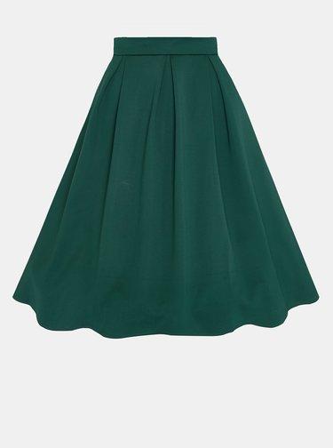 Tmavozelená sukňa Dolly & Dotty