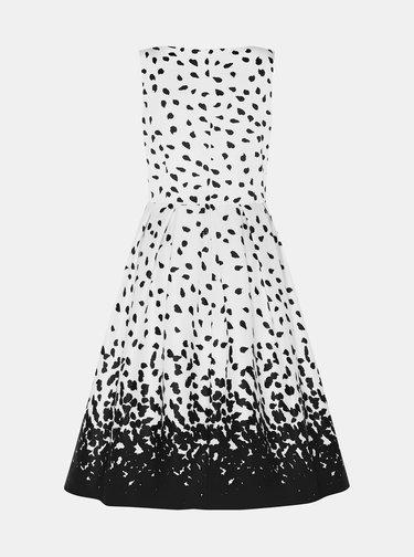 Čierno-biele vzorované šaty Dolly & Dotty