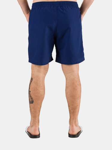 Modré pánské plavky s potiskem SAM 73