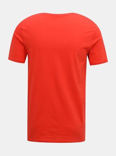 Červené pánské tričko Jack & Jones Chase