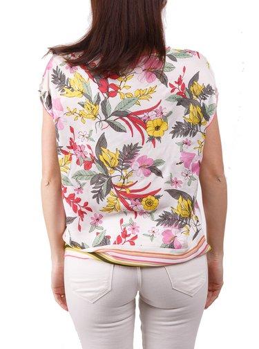 Deha barevné stylové tričko