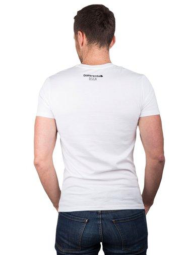 Differenta Design bílé pánské tričko Hledá se Nemo