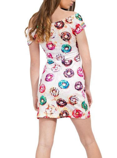 Culito from Spain barevné šaty Hipatia de Alejandria - Donuts