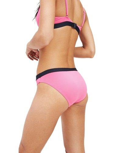 Tommy Hilfiger růžový spodní díl plavek Classic Bikini