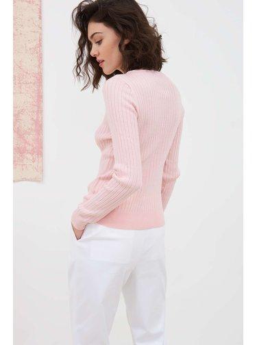 Pietro Filipi pudrový dámský svetr