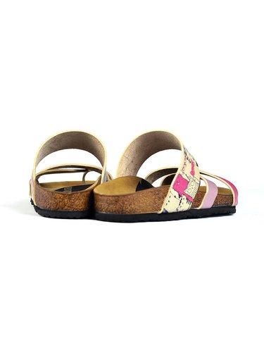 Calceo ružové šľapky Thong Sandals