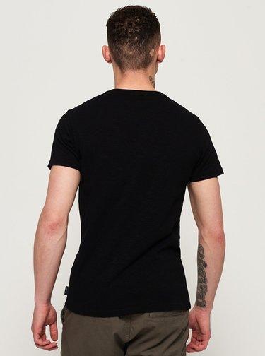 Tricouri pentru barbati Superdry - negru