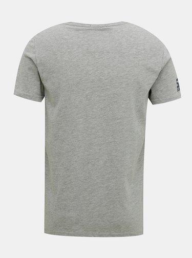 Šedé pánske tričko Superdry