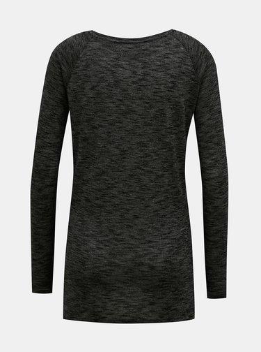 Černé dámské tričko Superdry