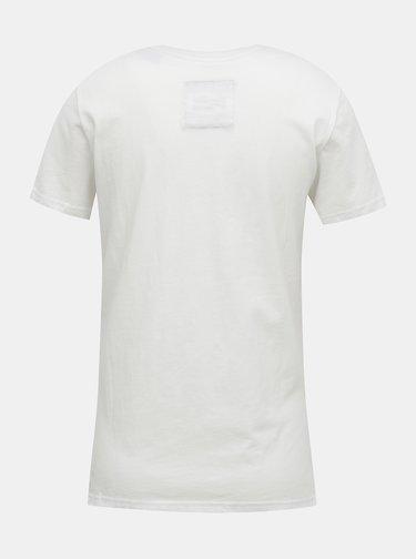 Biele dámske tričko s potlačou Superdry